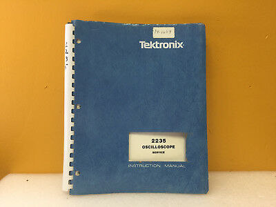 Tektronix 070-3826-00 2215 Oscilloscope Service Instruction Manual