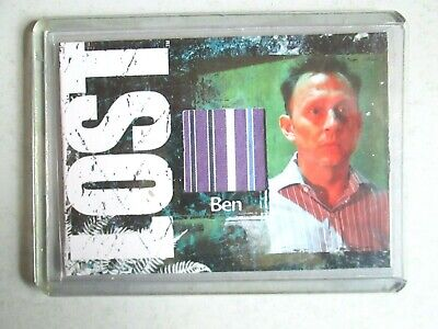 2010 Rittenhouse Lost Archives Costume Card - Michael Emerson as Benjamin Linus
