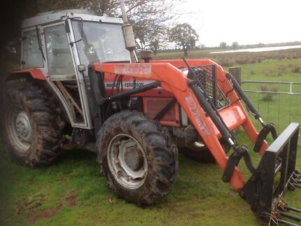 Massey ferguson 365 4x4 front end loader tractor  Morpeth Maitland Area Preview