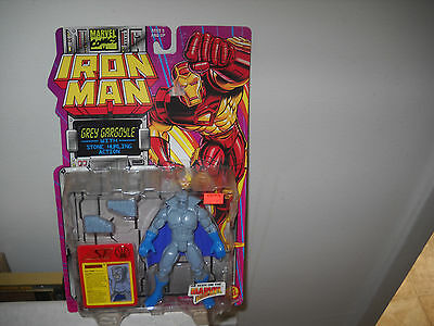Iron Man Action FigureGrey Gargoyle vfnm on Card