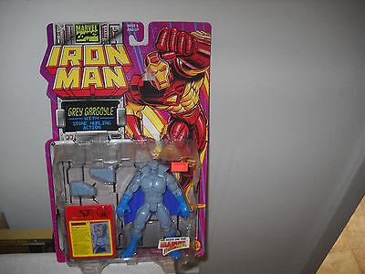 Iron Man Action FigureGrey Gargoyle vfnm on Card