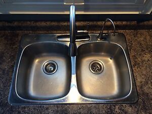 Kitchen Sink and Faucet(s) Kitchener / Waterloo Kitchener Area image 1