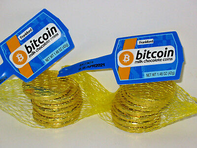 14 Candy Bitcoin Chocolate Coins Bitcoins Cryptocurrency BTC Crypto Miner Gift - Bulk Chocolate Coins
