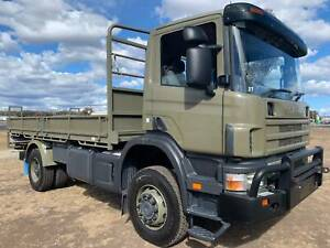 Scania P114 4x4 Traytop/Tabletop Truck.Ex Army/Military. Expedition Inverell Inverell Area Preview
