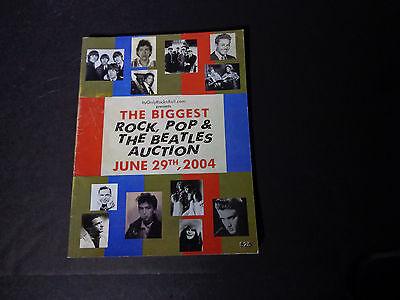 IT'SONLYROCKNROLL AUCTION - CATALOG ROCK,THE BEATLES-6/29/04