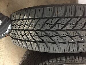 Dodge Caravan Winter tires with rims NEW