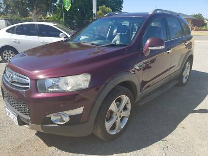 2013 HOLDEN CAPTIVA DIESEL TURBO 7 SEATER 4X4 Midland Swan Area Preview
