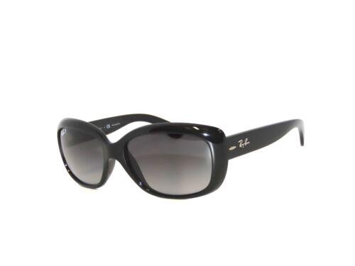 Ray Ban 4101 601/T3 Black Gray Gradient Polarized Jackie Ohh Rayban Sunglasses