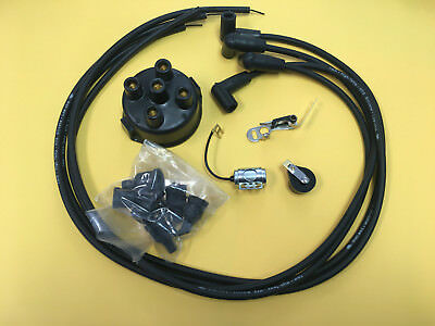 Case Tractor Complete Delco Tune Up Kit Points Cap Wires S Sc C Cc D Dc L La