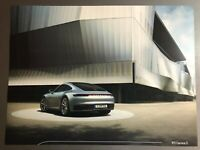 2015 Porsche 911 Carrera 4S Coupe Showroom Advertising Sales Poster RARE Awesome