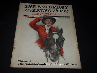 1913 NOVEMBER 8 SATURDAY EVENING POST MAGAZINE - FULL PAGE COLOR ADS - O10940 - November Coloring Pages