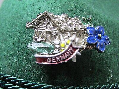 Alpine Chalet Oktoberfest Hat Pin