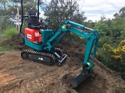 Mini Diggers, DIY, Dry Hire Rental from $160.00 per day Nerang Gold Coast West Preview