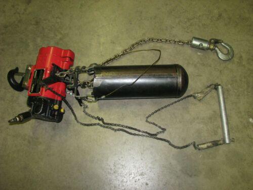 ARO Pneumatic Chain Fall Hoist 1/2 Ton