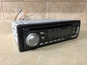 JVC Deck / Head Unit with CD player / Radio / MP3 / Sirius