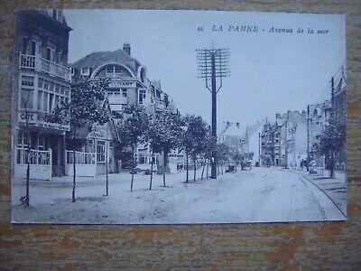 DE PANNE - LA PANNE --- Avenue de la Mer