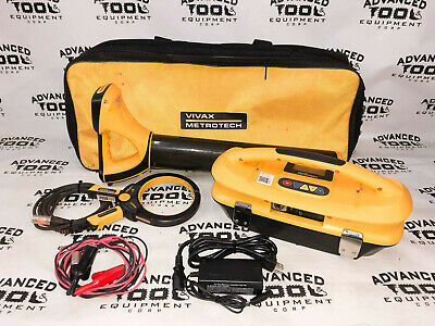 Vivax Metrotech Vlocpro2 Pipe Cable Utility Locator Transmitter Vx200-4 Clamp