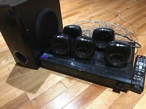 Lecteur blueray suround sound 5.1