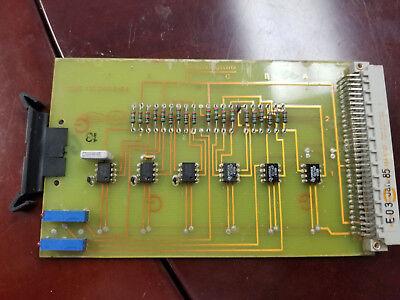 Netstal Control Card Vvc 110.240.5164 Injection Molding Machine