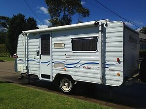 2005 Windsor Rapid Offroad. Like a Jayco Expanda but better Newport Pittwater Area Preview