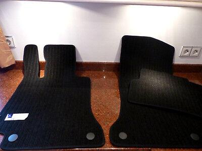 Original Fussmatten Rips Mercedes C-Klasse W205 S205 BASIC schwarz ab 2014