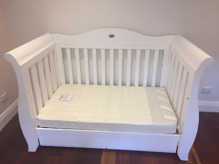 Wanted: Boori Sleigh Royale Cot Bed - White