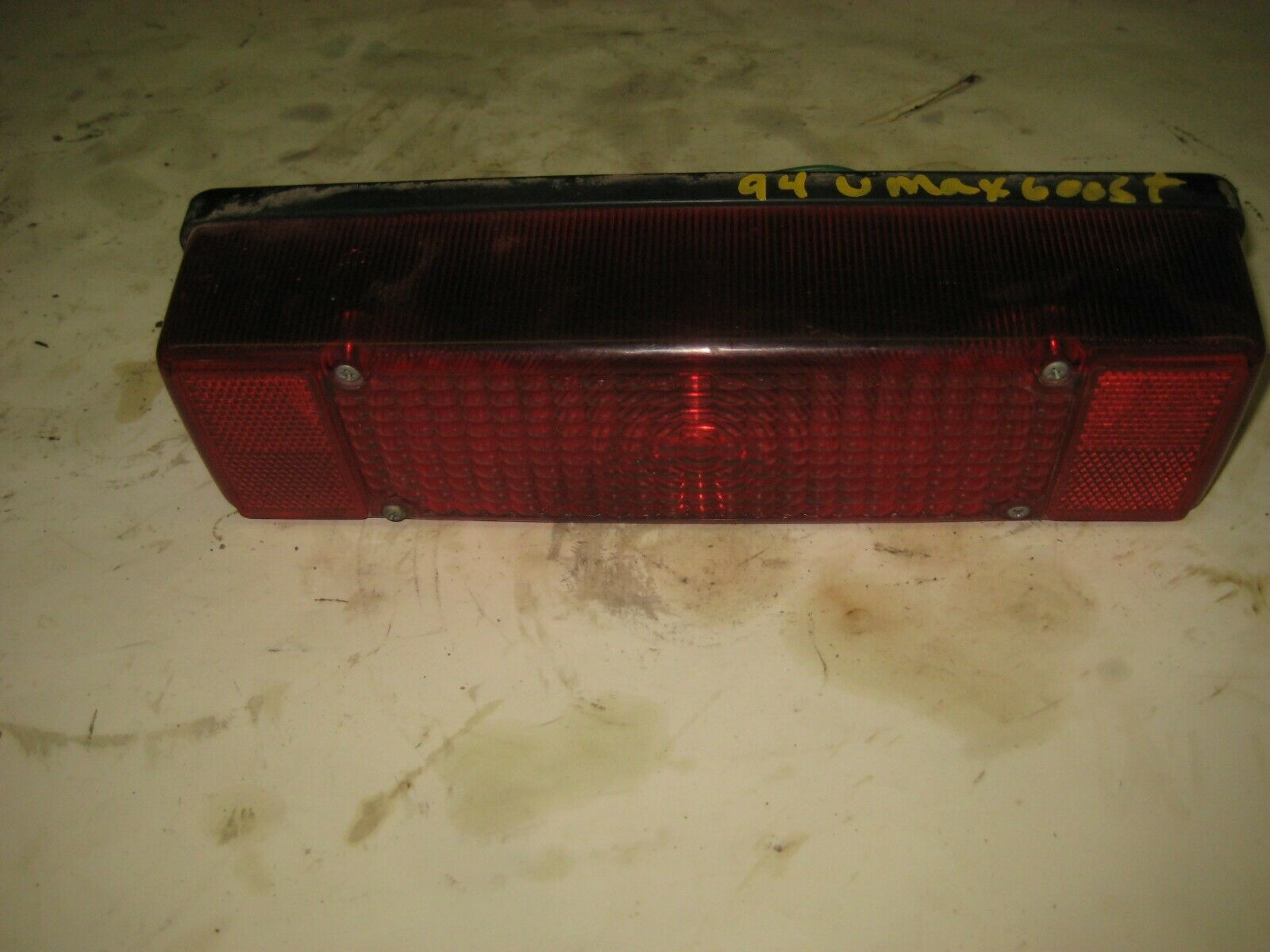 1994 Yamaha VMAX 600 ST Snowmobile Taillight Assembly