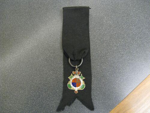 UK WWI The Royal Order of the Garter Sterling Silver Medal - Sweet Heart Badge