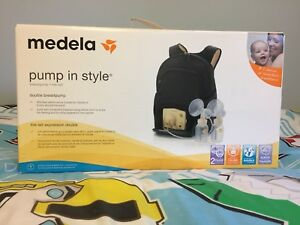 Almost new Medela double breast pump