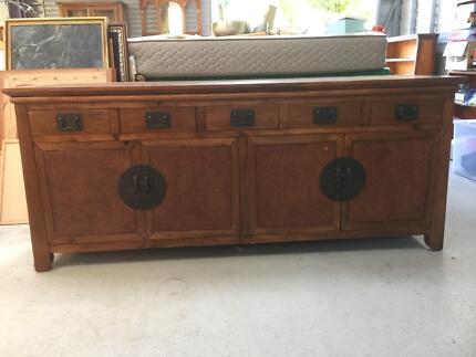 Oriental Antique Buffet/Sideboard