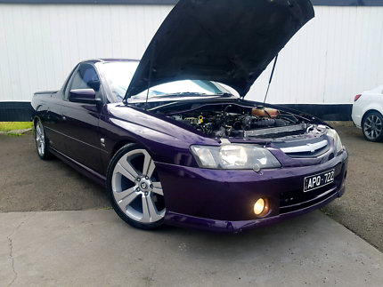 HOLDEN VY SS UTE SERIES II LS1 WITH 11 MONTHS REGO