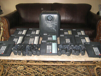 Toshiba Strata Ctx100 Business Phone System W 12 Phones Dkt 3010sd Dkt 3010s