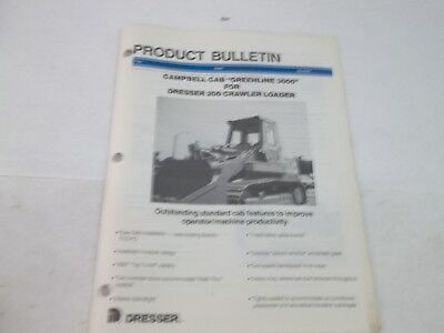 Dresser Product Bulletin 200-2 Crawler Loader