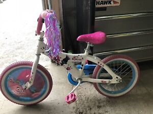 "16"" Trolls bike in excellent condition"