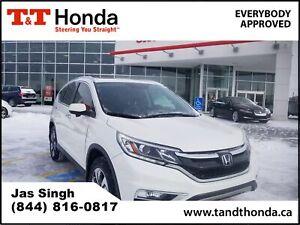 2016 Honda CR-V Touring *AWD, Leather Interior, Local Vehicle*