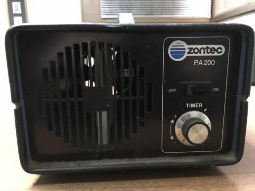 Zontec PA200 PA203B Series III Electronic Air Deodorizer Ozone Generator Ionizer