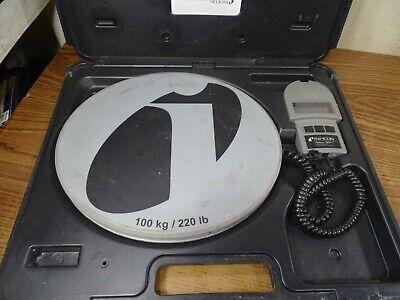 Inficon Wey-tek 713-500-g1 220 Lbs100 Kg Refrigerant Charging Ac Scale