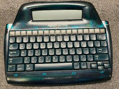 Lot Of 5 Alphasmart 3000 Portable Desktop Keyboard Word Processor Rechargeable