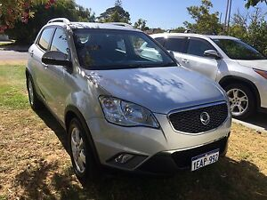 Ssangyong Korando 2012 AWD Turbo Diesel South Perth South Perth Area Preview