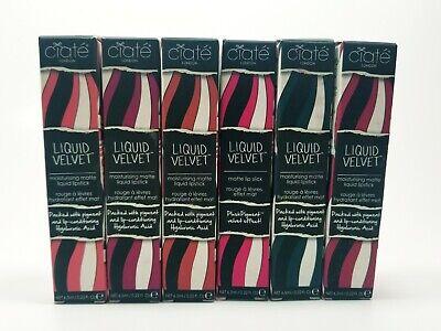 CIATE LONDON Liquid Velvet Moisturizing Matte Lipstick You Choose! NEW! 0.22 oz ()