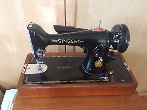Singer sewing machine model 201-3