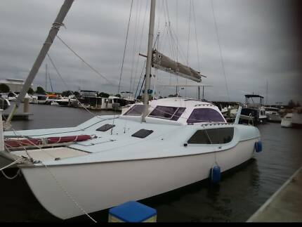 catamaran/multihull  fastback30r bridgedeck fiberglass cat.