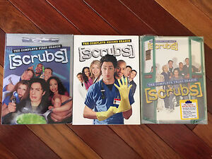 Scrubs Season 1-3 Dvd