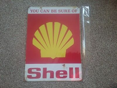 metal wall sign shell officially licensed product red hot lemon