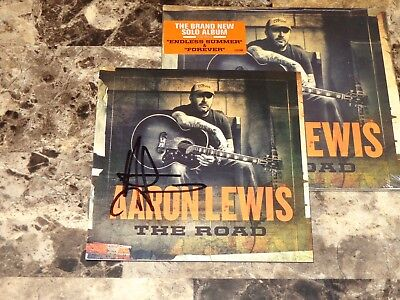 Aaron Lewis Rare HAND SIGNED CD The Road 2012 Staind Country Music Presale + COA for sale  Detroit