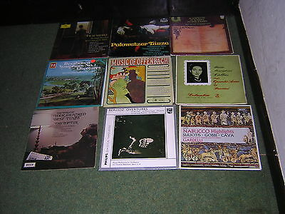 JOB LOT OF 108 CLASSICAL LP'S AS PHOTOGRAPHED