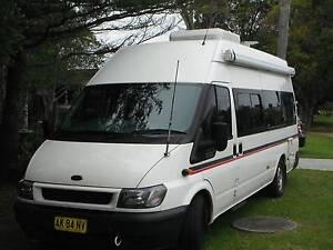 2006 ford transit jumbo motorhome Tomakin Eurobodalla Area Preview