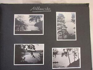 Vintage Photo Album Various Hiking Trips Cumberland Scotland 1940's 70 Photos