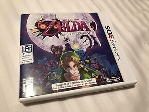 Legend of Zelda Majoras Mask 3D