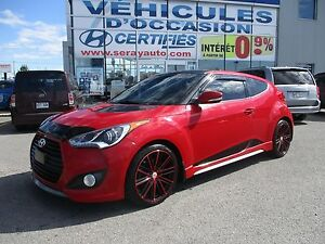 2013 Hyundai Veloster TURBO CUIR LOOK UNIQUE Turbo